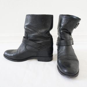 Prada Black Motorcycle Boots